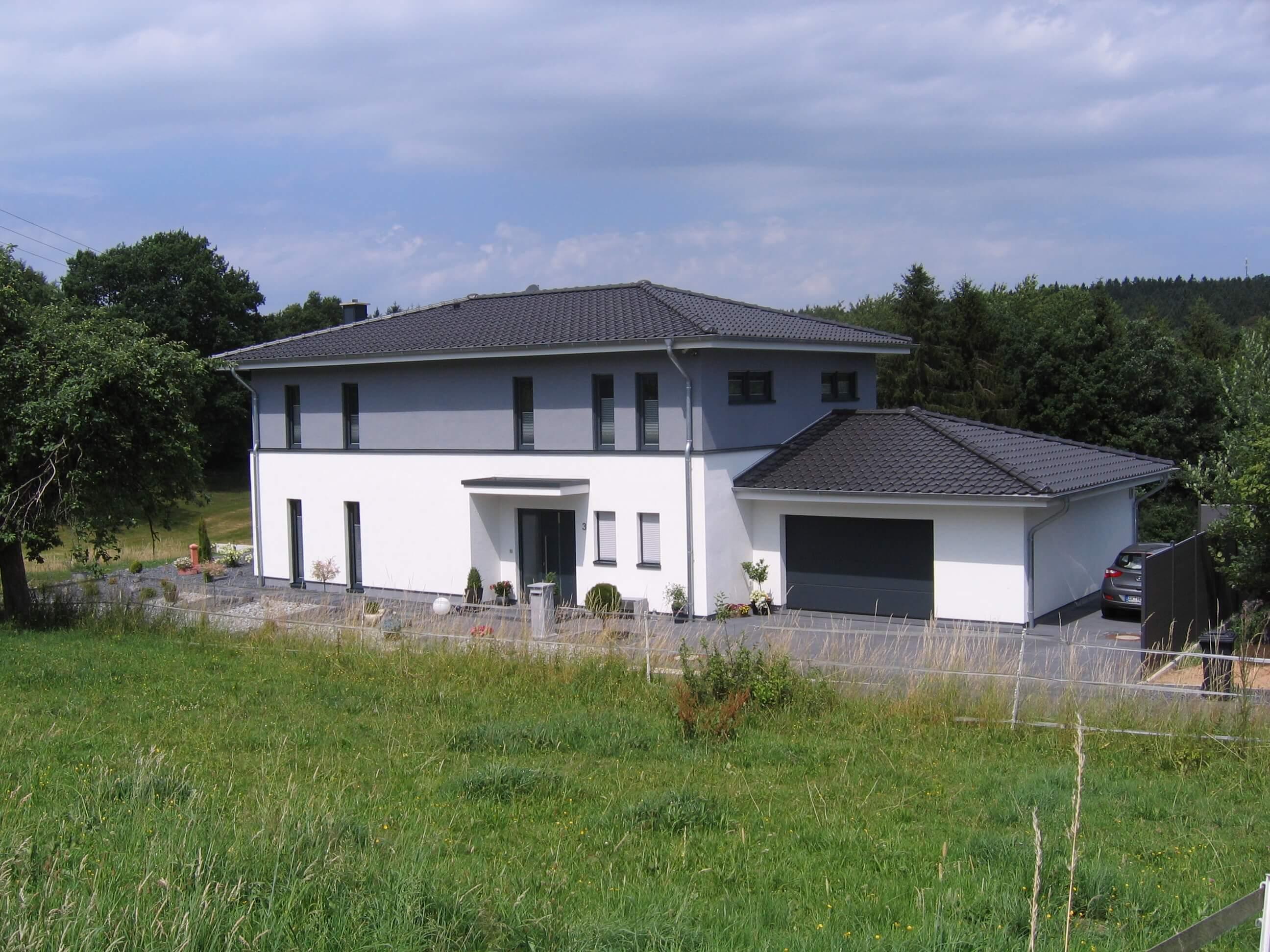 Einfamilienhaus vom Architekten gebaut