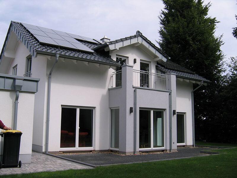 Architektenhaus schlüsselfertig